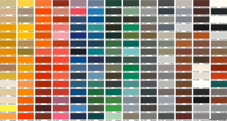 Каталог цвета краски для дома